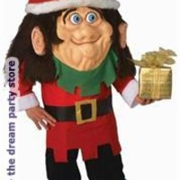 Men's Parade Pleaser - Santa's Elf Adult Costume - Red - One-Size