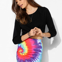 O-Mighty Graphic Bodycon Mini Skirt - Urban Outfitters