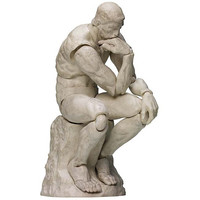 The Table Museum figma : The Thinker [Plaster ver.] [PRE-ORDER]