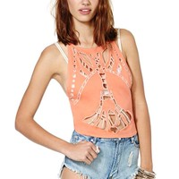 Nasty Gal Cut and Run Tank