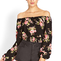 Fiesta Floral Crop Top