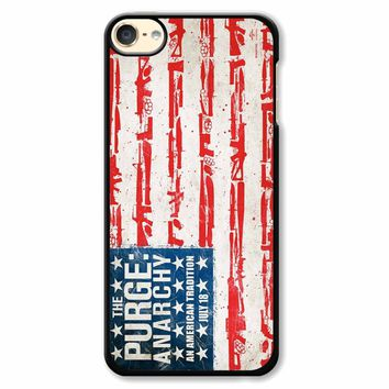 The Purge Anarchy Flag iPod Touch 6 Case