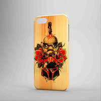 Star Wars Roses Tatto In Wood iPhone Case Samsung Galaxy Case BDN 3D