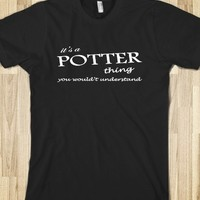It's A Potter Thing Tshirt