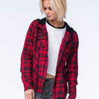 METAL MULISHA Recover Womens Hooded Flannel | Shirts & Flannels