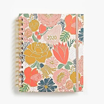 WASTE NOT PAPER 2020 BOLD BLOOMS MEDIUM PLANNER