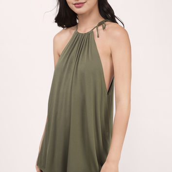 One Way Modal Surplice Tank