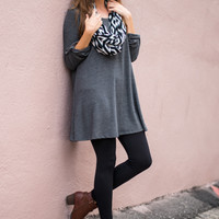 Best Of All Tunic, Gray