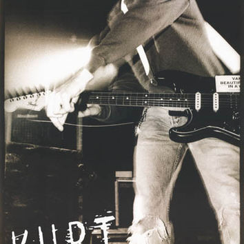 Nirvana Kurt Cobain String Break Poster 23x35