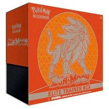 Pokemon TCG: Sun & Moon Elite Trainer Box Solgaleo