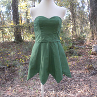 Fairy / Pixie Style Dress - Adult Sized Cosplay Fairy Costume - Any Size and Any Solid Colored Cotton Fabric