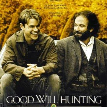 Good Will Hunting movie poster Sign 8in x 12in