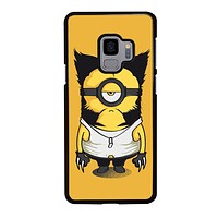 WOLVERINES MINION Samsung Galaxy S3 S4 S5 S6 S7 Edge S8 S9 Plus, Note 3 4 5 251