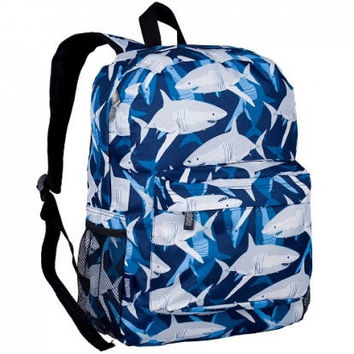 Monogram Backpack and Lunch Bag Set - Wildkin - Personalized - Sharks - Back to School Crackerjack
