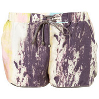 Multi Coloured Print Running Shorts - Shorts  - Apparel  - Topshop USA
