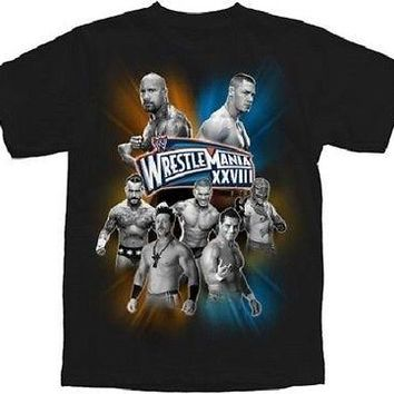 WWE Wrestling WrestleMania XVIII Youth Licensed T-Shirt Tee S M L XL