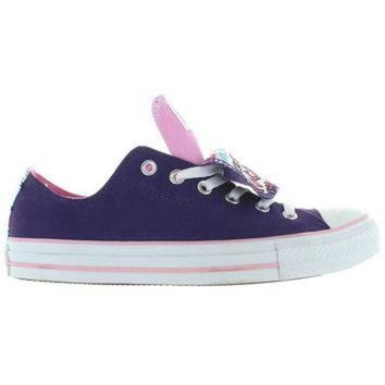 DCKL9 Converse All-Star Chuck Taylor 2X Tongue - Grape/Lady Pink Canvas Double Tongue Low To