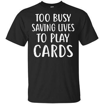 Nurse Not Playing Cards Gift