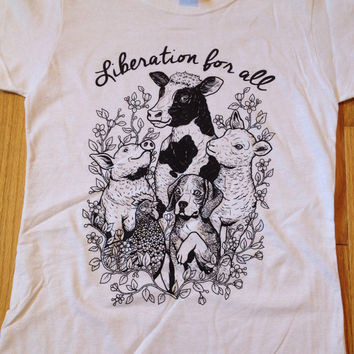 WOMENS Liberation For All T-shirt