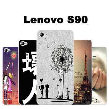 Lenovo s90 case cover TPU New wave case for Lenovo s90 phone case Cartoon tpu s90 Lenovo s 90 phone case cover