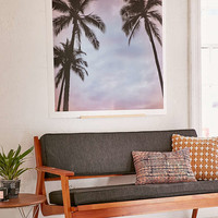 Max Wanger Sunset Palms Art Print - Urban Outfitters
