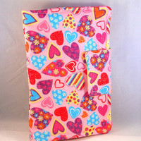 Kindle Fire HD Cases Kindle Fire Cover Cute Kindle Fire Case Hearts Rainbows Polka Dots