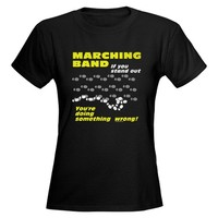Marching Band Tee on CafePress.com
