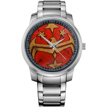 WONDER WOMAN PINTEREST Metal Watch