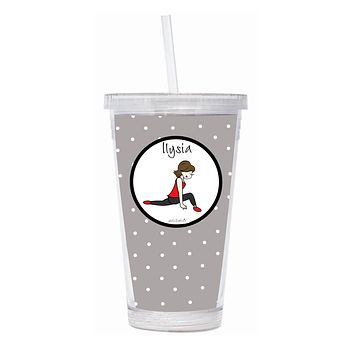 Personalized Barre Tumbler