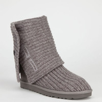 Ugg Classic Cardy Womens Boots Grey  In Sizes