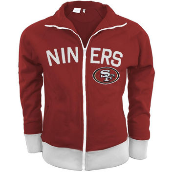 San Francisco 49ers - Tennis Premium Juniors Stretch Track Jacket