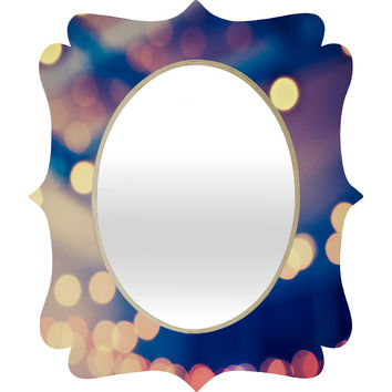 Shannon Clark Pretty Lights Quatrefoil Mirror