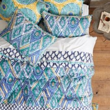 Crackled Batik Quilt