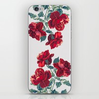 Red Roses iPhone & iPod Skin by Heart Of Hearts Designs