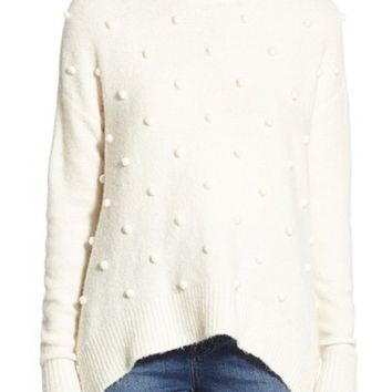 Madewell 'Snowglobe Bobble' Turtleneck Sweater | Nordstrom