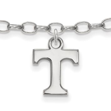 NCAA Sterling Silver University of Tennessee Anklet, 9 Inch