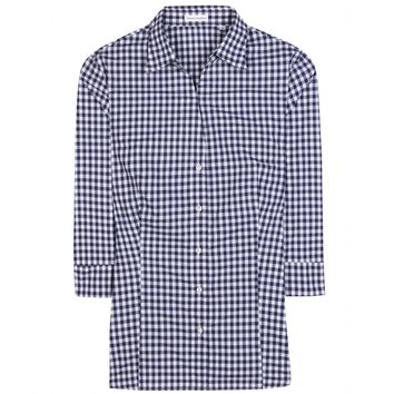 robert friedman - checked cotton shirt