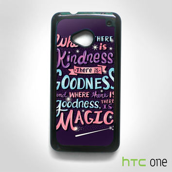 have courage and be kind cinderella for HTC M7/M8/M9 phonecases