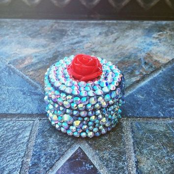 stash jar,Large Bling.Pill box.dab dish