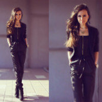 Black unitard by Perventina Ols // LOOKBOOK.nu