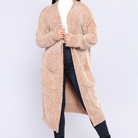 Glenmont Oversized Cardigan - Sandy