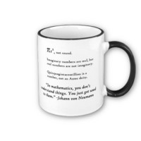 You Don't Understand Math Mug from Zazzle.com
