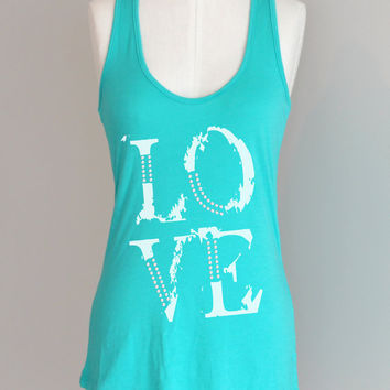 LOVE Eco Friendly Pima Modal Racerback Tank