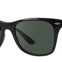 Ray-Ban RB4195 601/71 52-20 WAYFARER LITEFORCE Black sunglasses | Official Online Store US