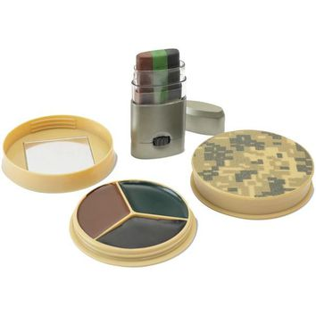 HME(TM) HME-CMOFPDS 3 Color Camo Face Paint Kit