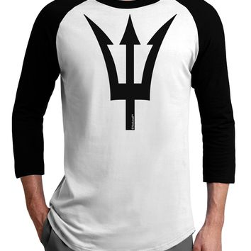 Trident of Poseidon Adult Raglan Shirt by TooLoud