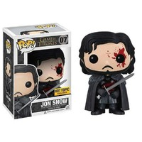 Funko - Figurine Game of Thrones - Jon Snow Bloody Exclu Pop 10cm - 088969810...