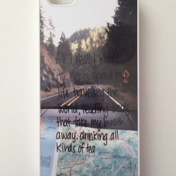 Traveling iPhone Case