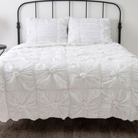 Knotted 3-pc. Comforter Set - Queen