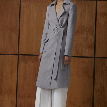 Buy The Definition Coat - Grey | C/MEO Collective | The Birdcage Boutique